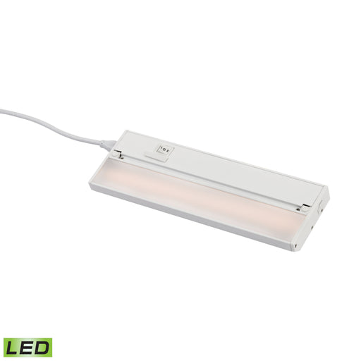 "ELK Lighting LV012RSF 12"" ZeeLED Pro - 6W White Finish White Free Parcel Delivery"