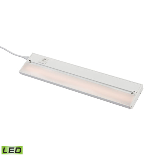 "ELK Lighting LV018RSF 18"" ZeeLED Pro - 9W White Finish White Free Parcel Delivery"