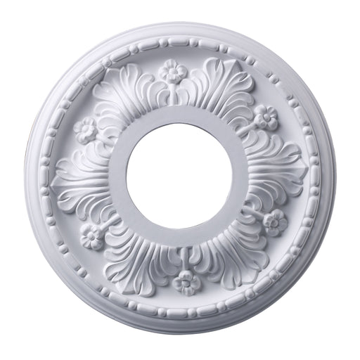 "ELK Lighting M1000WH Acanthus Medallion 11"" In White Finish White $10 Parcel Delivery"
