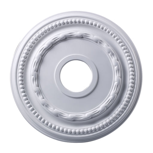 "ELK Lighting M1001WH Campione Medallion 16"" In White Finish White $25 Parcel Delivery"