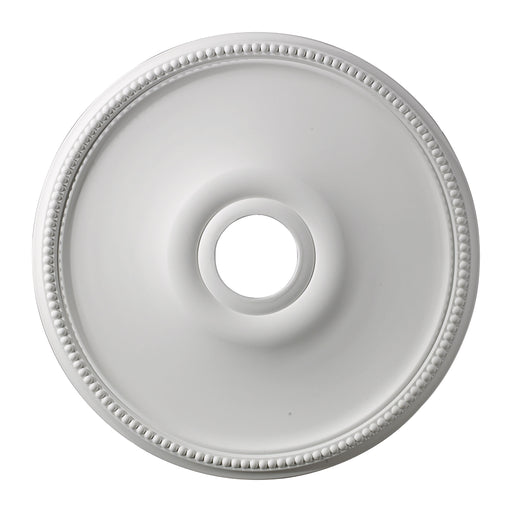 "ELK Lighting M1003 Brittany Medallion 19"" In White Finish White $25 Parcel Delivery"