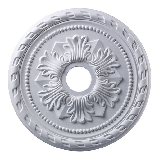 "ELK Lighting M1005WH Corinthian Medallion 22"" In White Finish White Free Parcel Delivery"