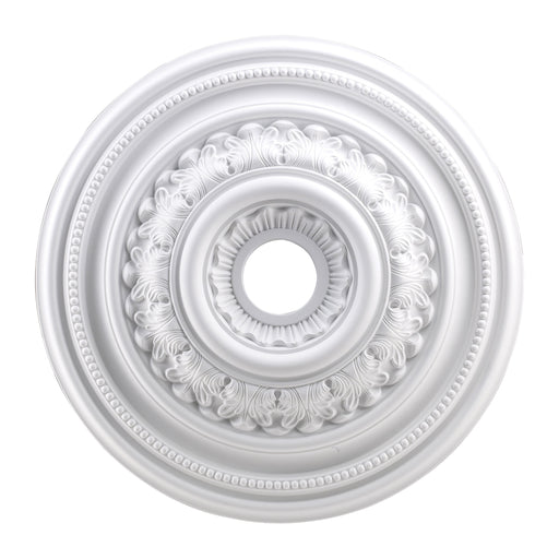 "ELK Lighting M1012WH English Study Medallion 24"" In White Finish White Free Parcel Delivery"