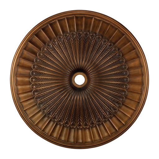 ELK Lighting M1017AB Hillspire Medallion 51 Inch In Antique Bronze Finish Antique Bronze 199 Threshold Delivery