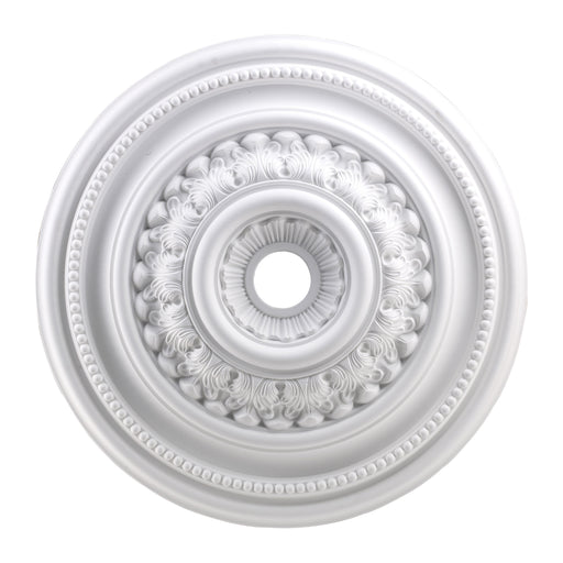 "ELK Lighting M1022WH English Study Medallion 32"" In White Finish White Free Parcel Delivery"