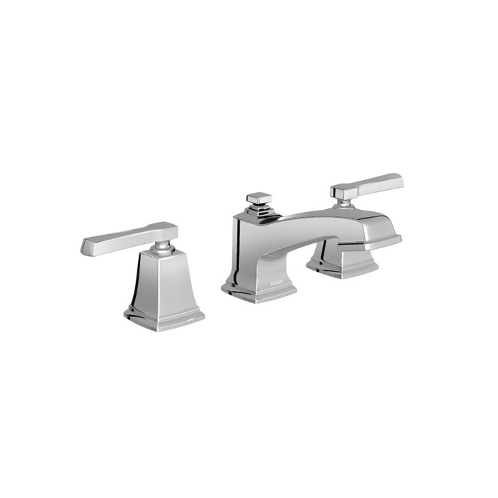 Boardwalk Two-Handle Widespread Lavatory Faucet in Chrome