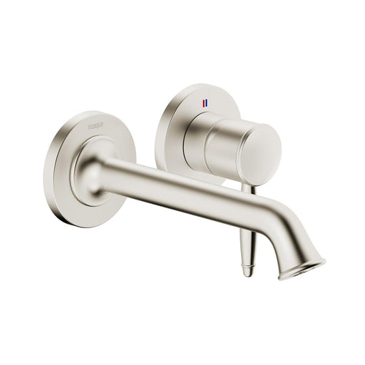 in2aqua Classic 2-hole in-wall for wash basin, brushed nickel 1022 2 20 2 Free Parcel Delivery