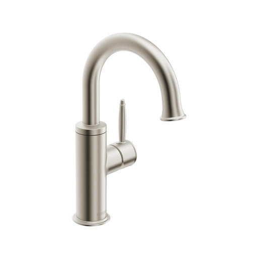 in2aqua Classic single-hole side-lever basin mixer with pop-up, brushed nickel 1044 1 20 2 Free Parcel Delivery