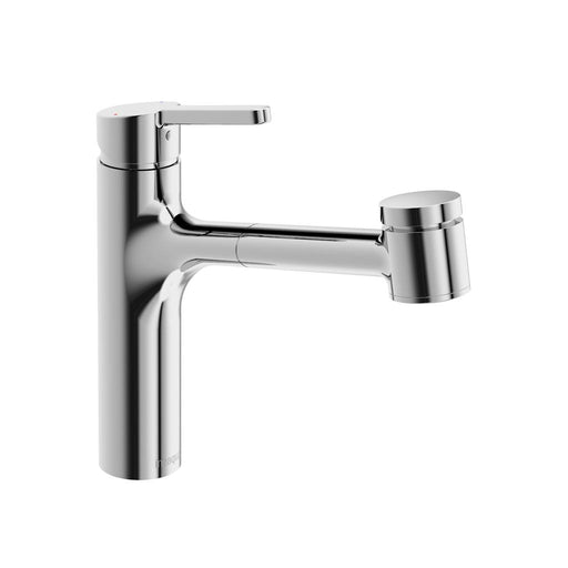 in2aqua Edge Single-Lever Kitchen Faucet With Swivel Spout, Pull-Out Spray, Chrome 6010 1 00 2 Free Parcel Delivery