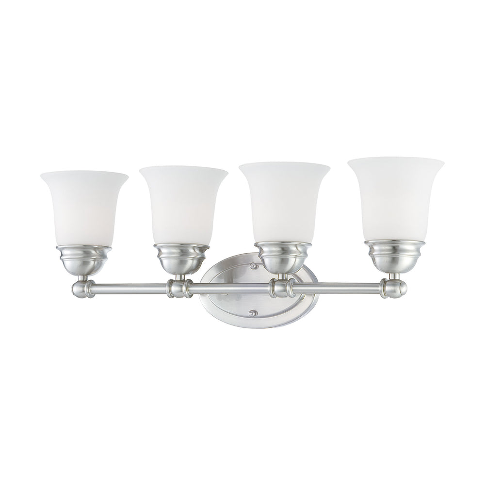 Thomas Lighting SL714478 Bella 4 Light Wall Lamp In Brushed Nickel Brushed Nickel