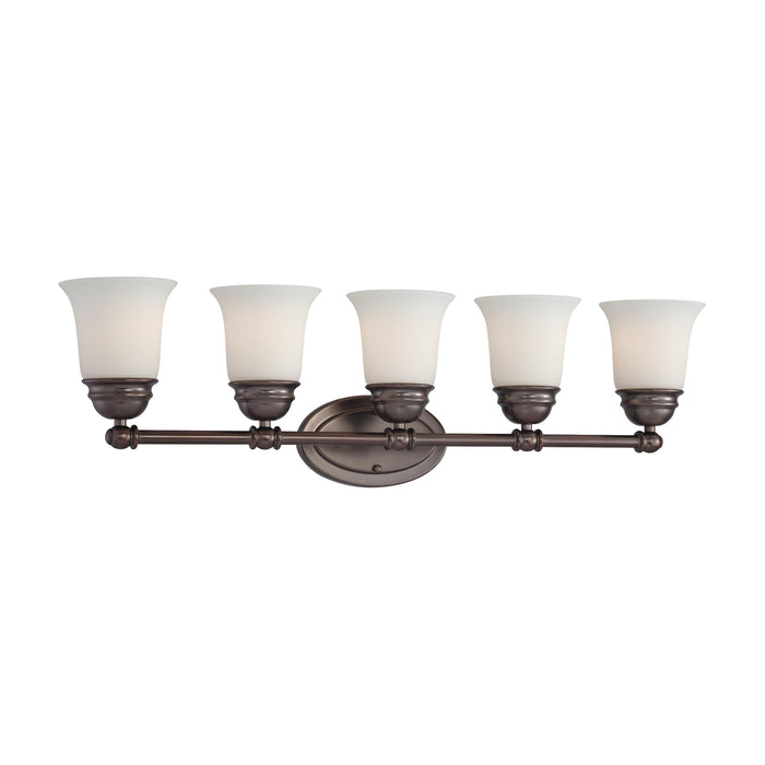 Thomas Lighting SL714515 Bella 5 Light Wall Lamp In Oiled Bronze Oiled Bronze