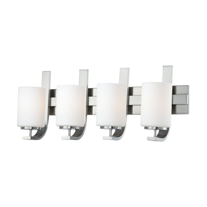 Thomas Lighting SL715478 Pendenza 4 Light Wall Lamp In Brushed Nickel Brushed Nickel