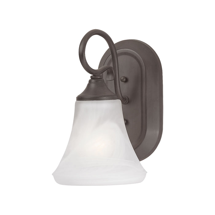 Thomas Lighting SL744163 Elipse 1 Light Wall Lamp In Painted Bronze Painted Bronze