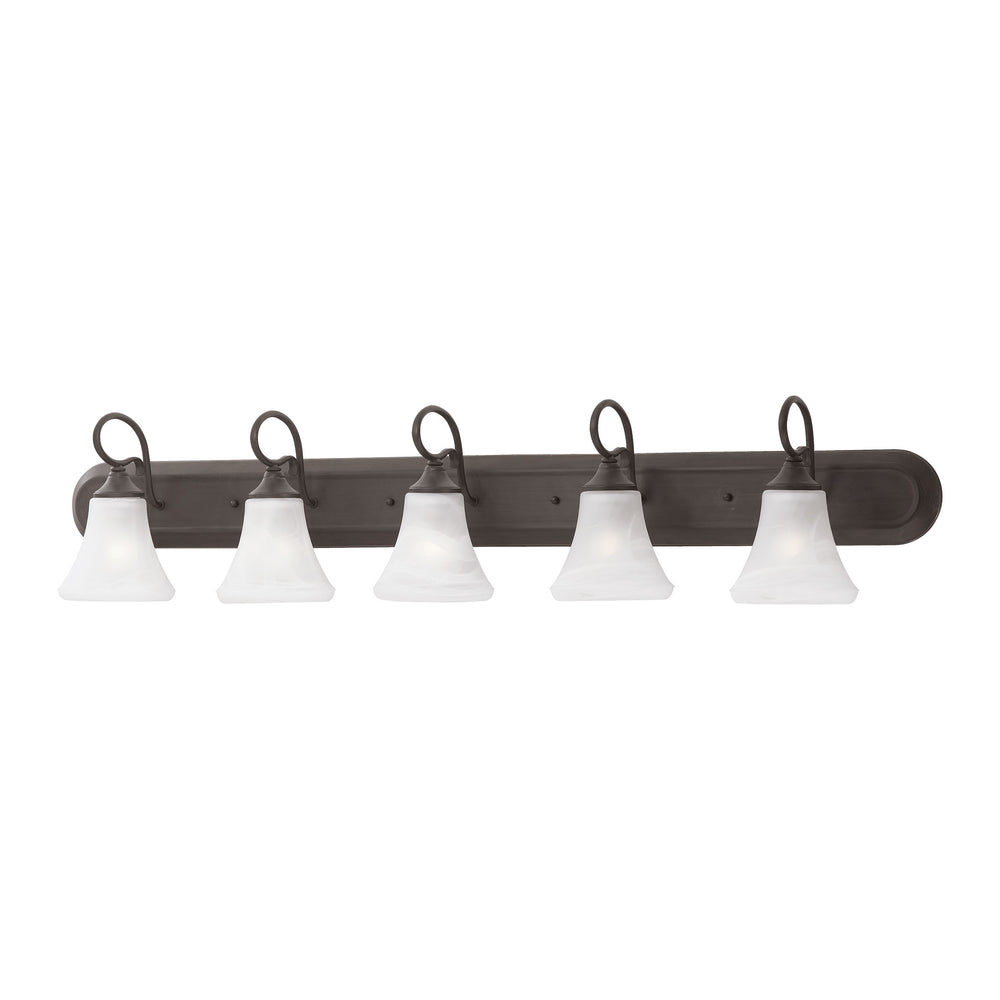 Thomas Lighting SL744563 Elipse 5 Light Wall Lamp In Painted Bronze Painted Bronze