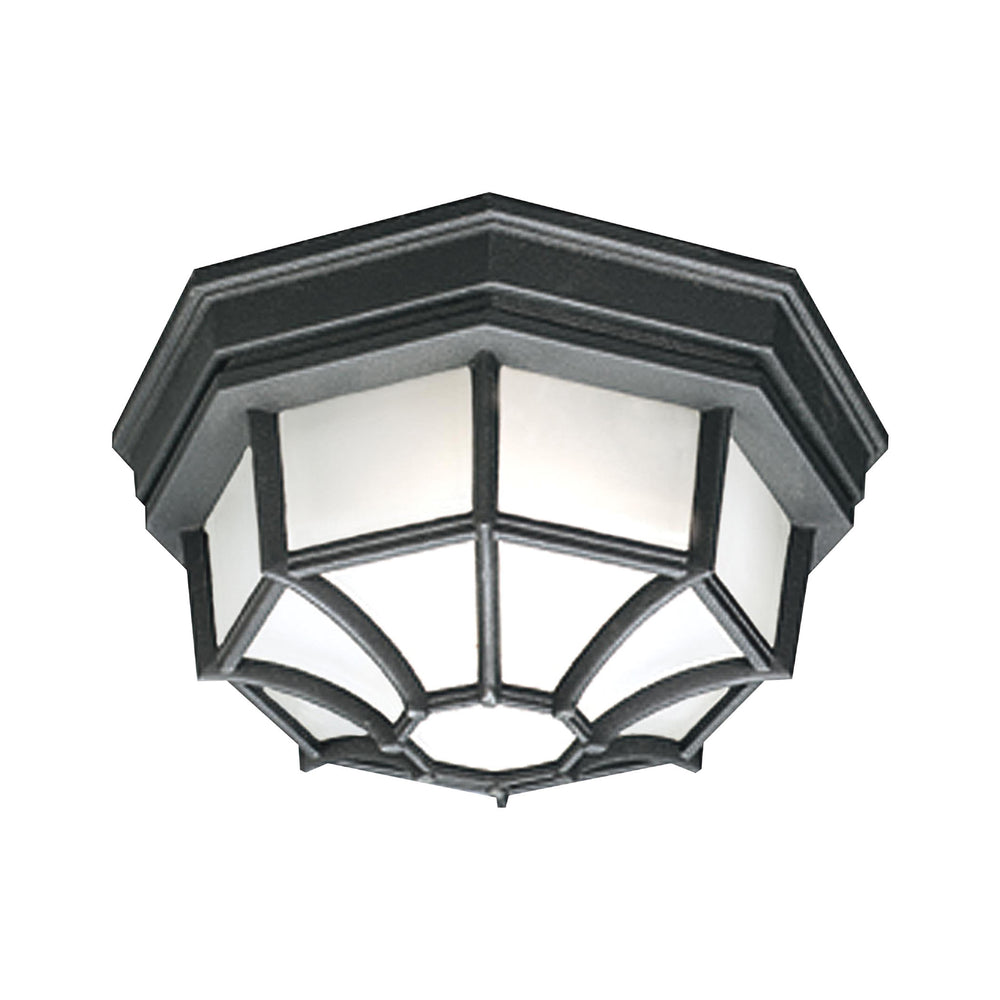 Thomas Lighting SL7457 Essentials 1 Light Ceiling Lamp In Black Black