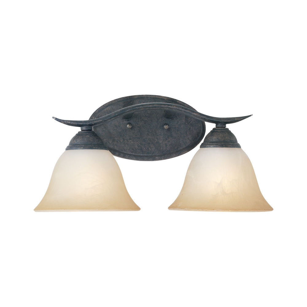 Thomas Lighting SL748222 Prestige 2 Light Wall Lamp In Sable Bronze Sable Bronze