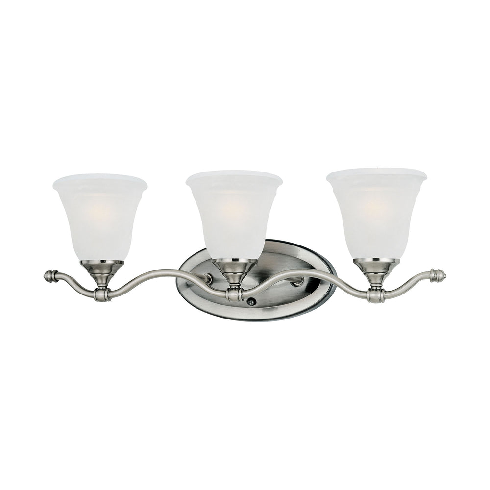 Thomas Lighting SL760341 Harmony 3 Light Wall Lamp In Satin Pewter Satin Pewter
