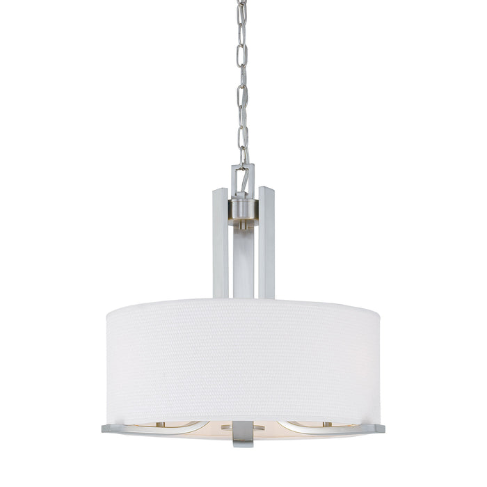 Thomas Lighting SL806678 Pendenza 3 Light Chandelier In Brushed Nickel Brushed Nickel