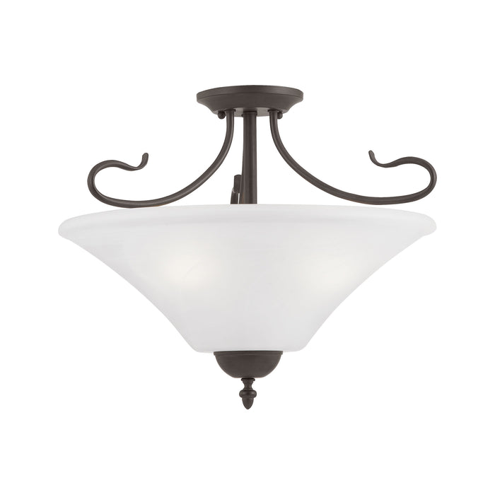 Thomas Lighting SL825363 Elipse 3 Light Pendant In Painted Bronze Painted Bronze