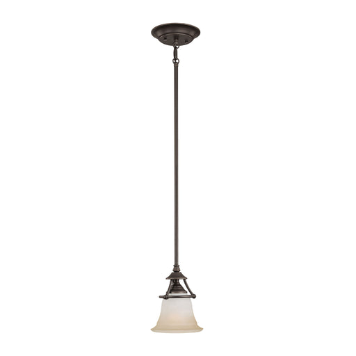 Thomas Lighting SL825662 Harmony 1 Light Pendant In Aged Bronze Aged Bronze
