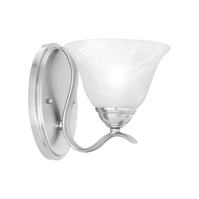 Thomas Lighting SL854178 Prestige 1 Light Wall Lamp In Brushed Nickel Brushed Nickel