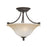 Thomas Lighting SL866262 Harmony 2 Light Ceiling Lamp In Aged Bronze Aged Bronze