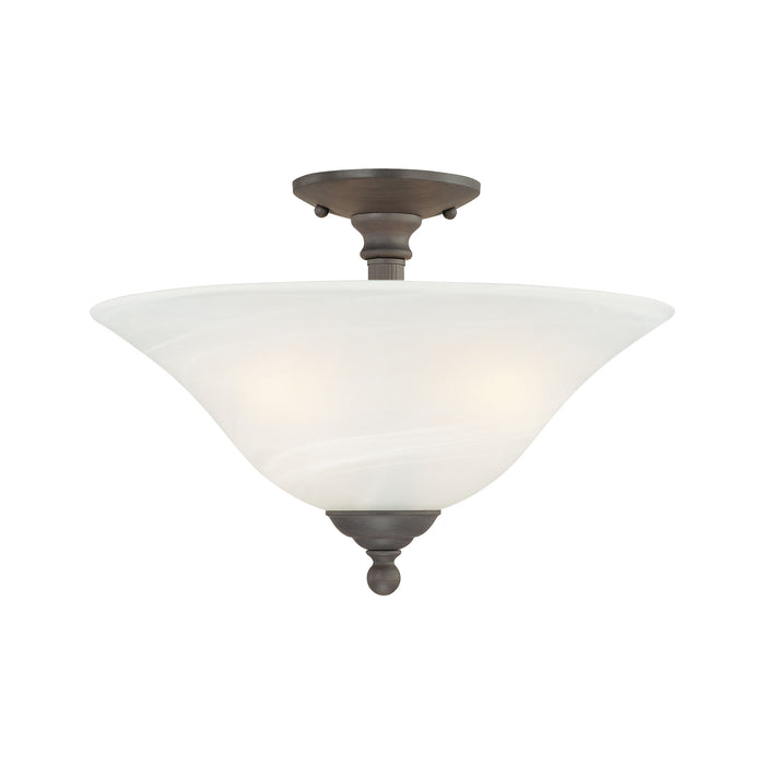 Thomas Lighting SL869663 Riva 3 Light Ceiling Lamp In Painted Bronze Painted Bronze