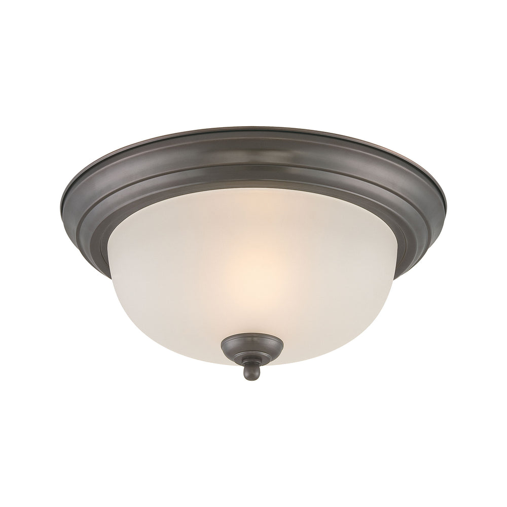Thomas Lighting SL878215 Pendenza 2 Light Ceiling Lamp In Oiled Bronze Oiled Bronze
