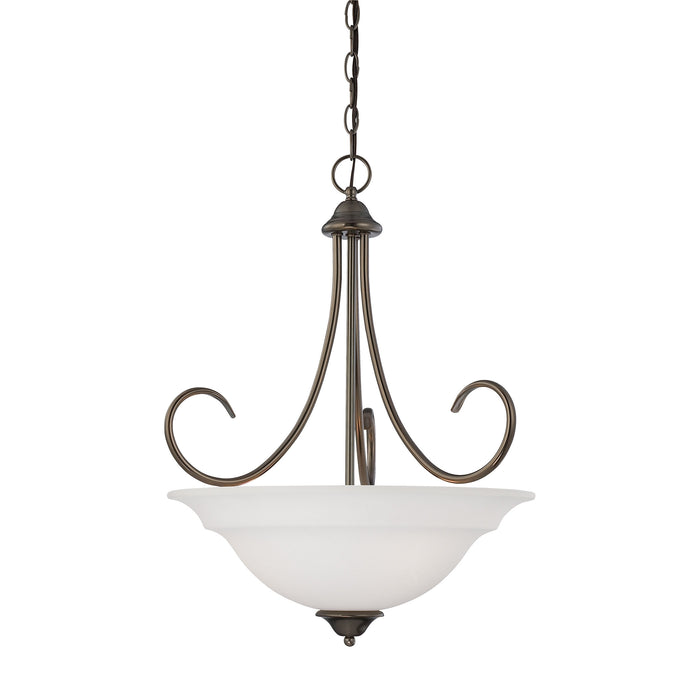 Thomas Lighting SL891715 Bella 3 Light Pendant In Oiled Bronze Oiled Bronze