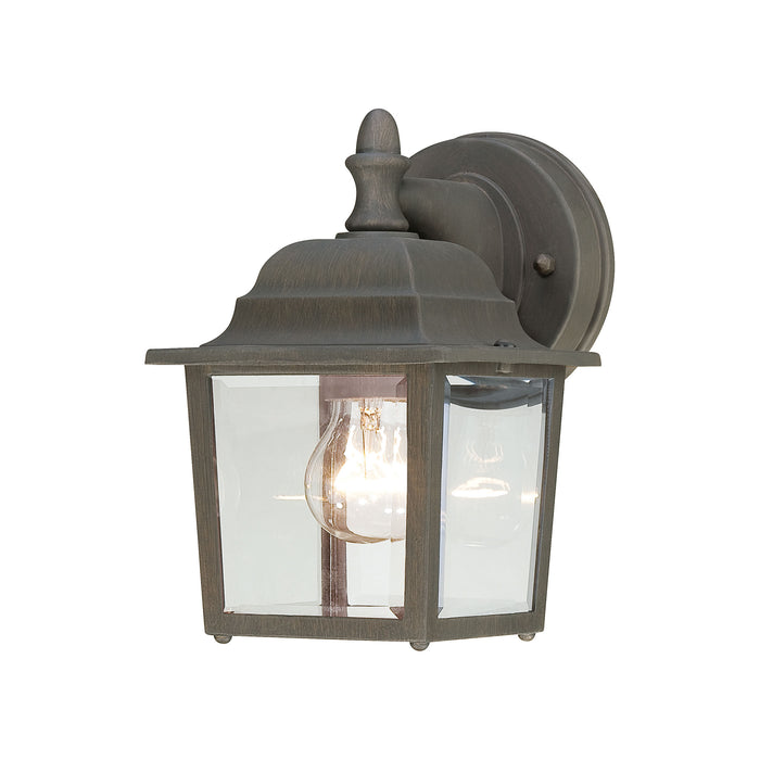 Thomas Lighting SL942263 Hawthorne 1 Light Outdoor Wall Lantern In Painted Bronze Painted Bronze