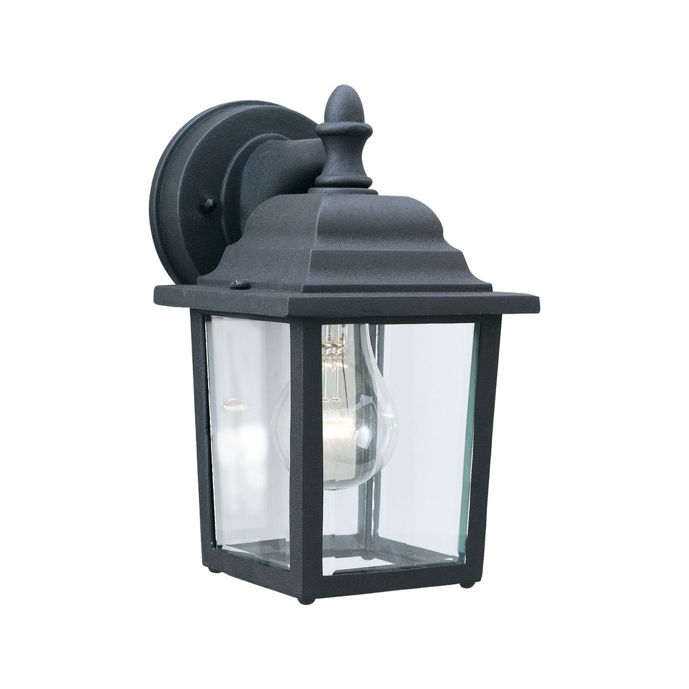 Thomas Lighting SL94237 Hawthorne 1 Light Outdoor Wall Lantern In Black Black