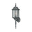 Thomas Lighting SL94517 Hawthorne 1 Light Outdoor Wall Lantern In Black Black