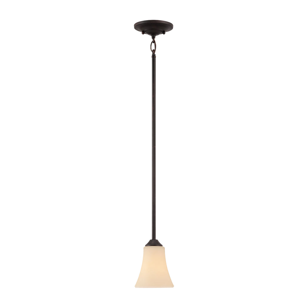 Thomas Lighting TC0019704 Treme 1 Light Mini Pendant In Espresso Espresso