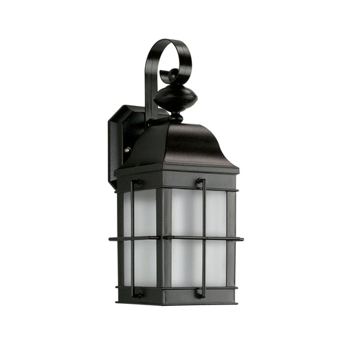 Thomas Lighting TG600176 Essentials 1 Light Outdoor Wall Sconce In Black Black
