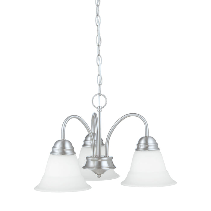 Thomas Lighting TK0003217 Bella 3 Light Chandelier In Brushed Nickel Brushed Nickel