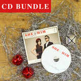 She & Him Mega Fan CD Bundle