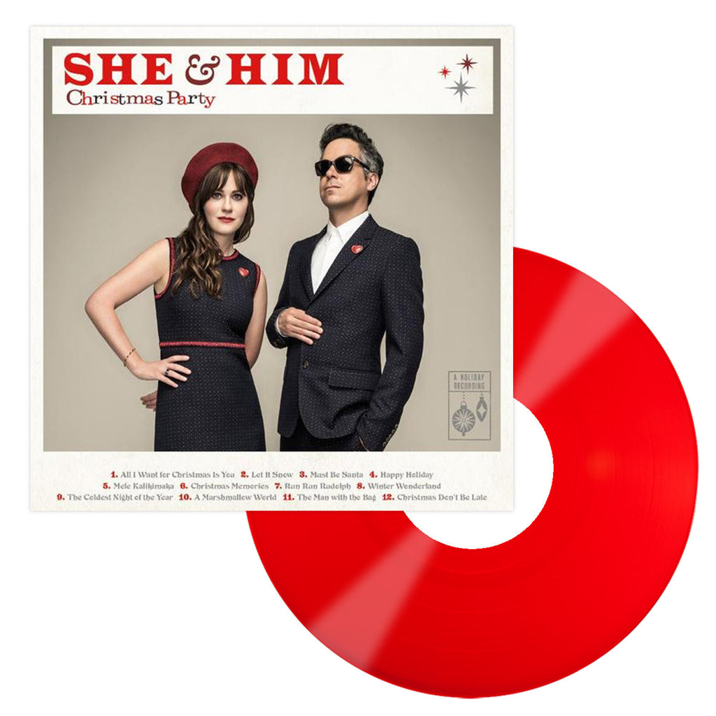 She & Him Mega Fan Vinyl LP Bundle