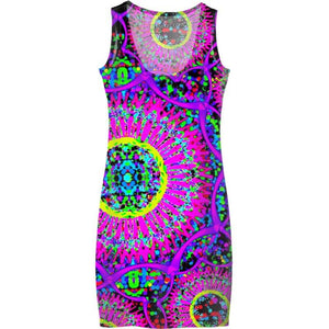 Blacklight Daydream Dress