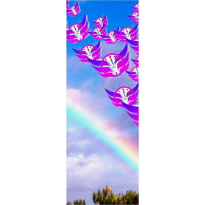 Time Flies Over the Rainbow Yoga Mat