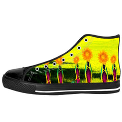 Embrace the Sunflowers High Tops