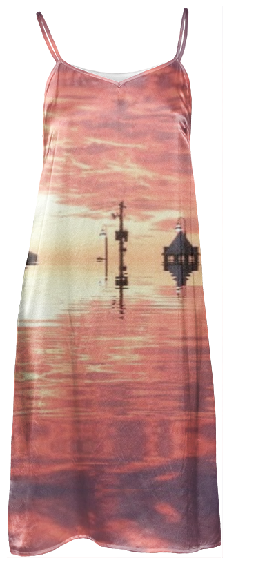 Sunset Reflection Slip Dress
