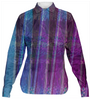 Fluorite Lanes Women's Button-down Shirt