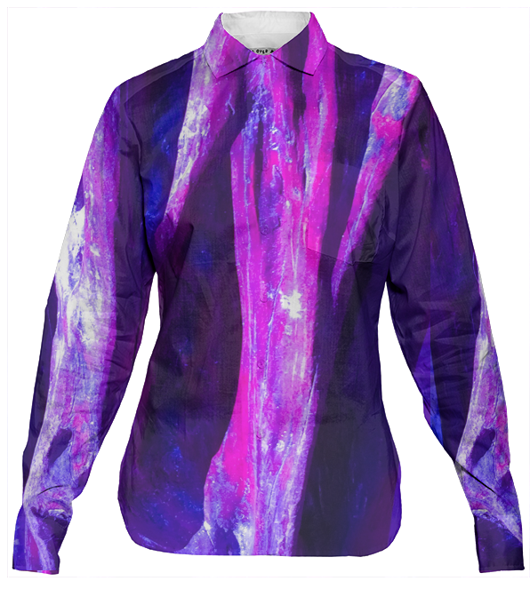 Fuchsia Wood Women's Shirt