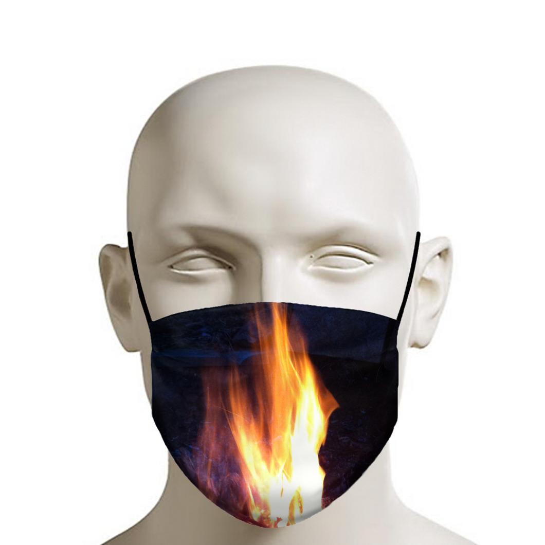 Fire Face Mask