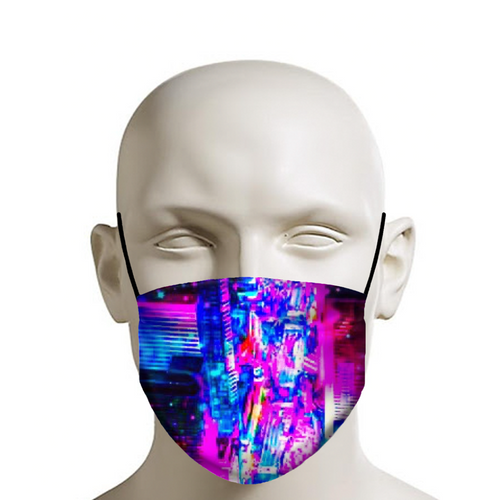 Neon NYC Face Mask