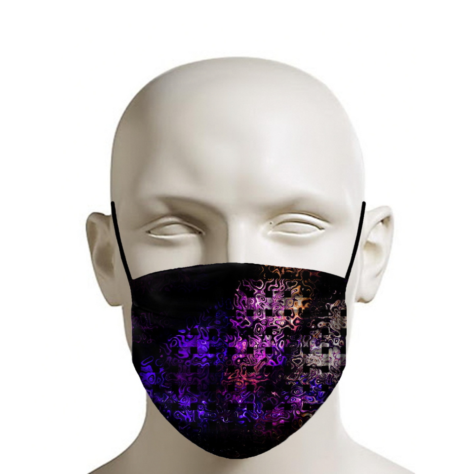 Bubble CrossStitch Face Mask