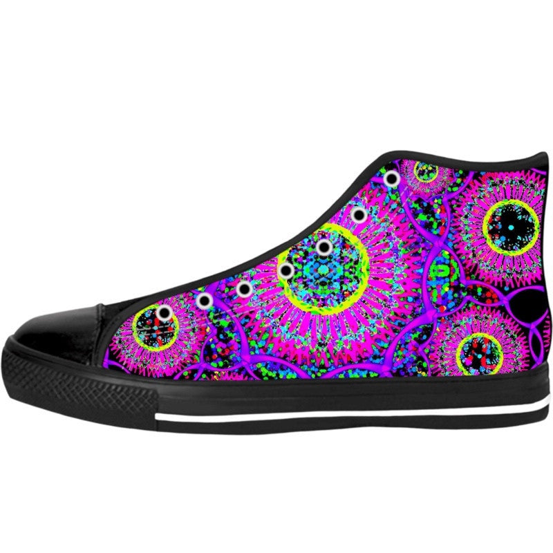 Blacklight Daydream High Top Shoes