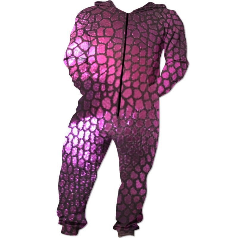 Purple Scales Onesie
