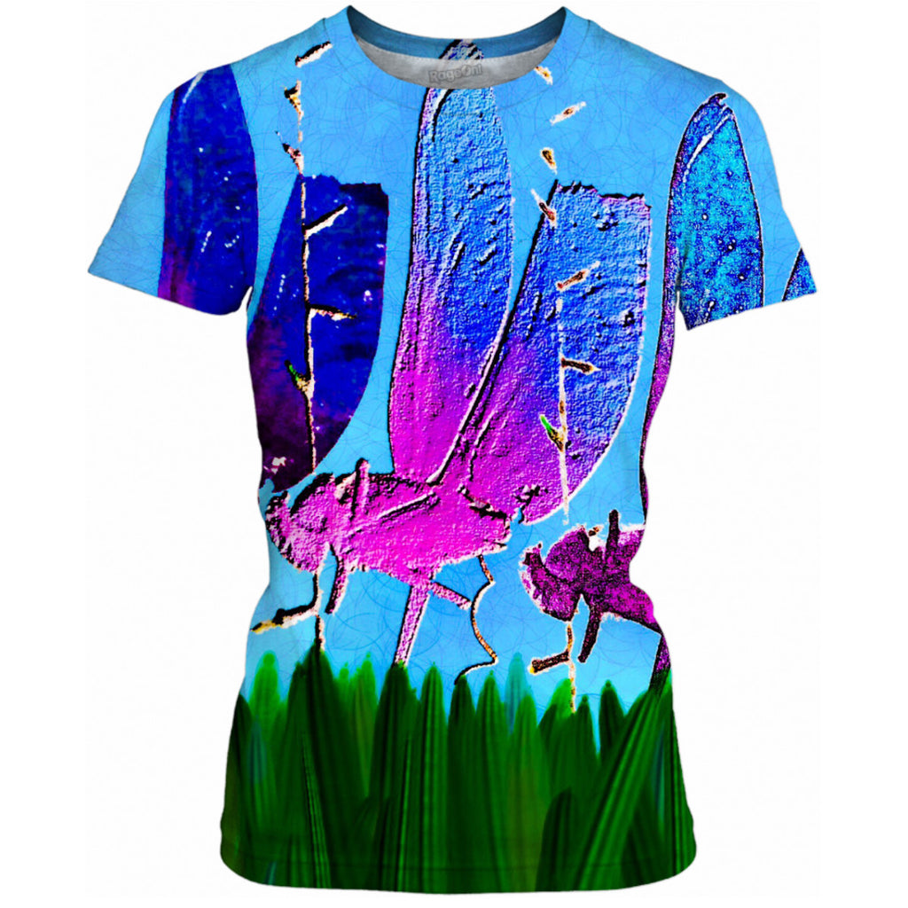 Dragonflies Ladies Tee