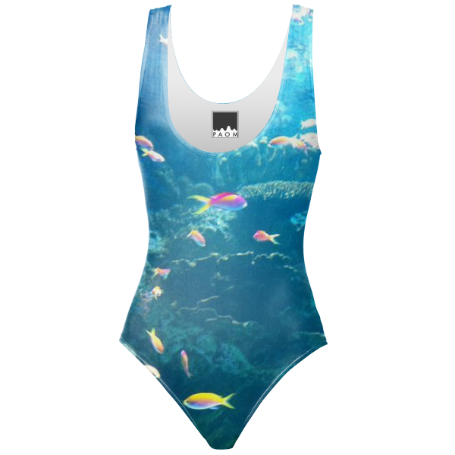 Fishes One Piece Swimsuit